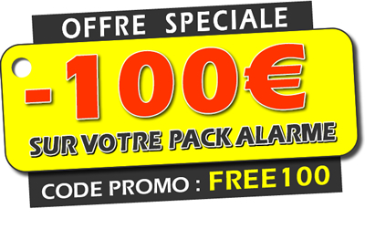 Promotion sp ciale freenaute alarme compatible freebox for Alarme maison freebox
